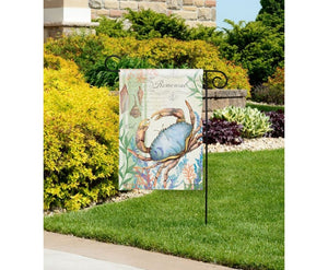 Atlantic Blue Crab Garden Flag