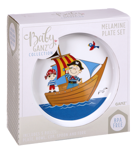 Pirate Plate Set