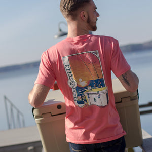 Beach Fishing Topside Cotton Tee