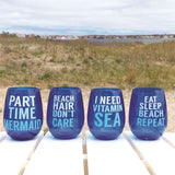 Beach Sayings Stemless Wine Glass