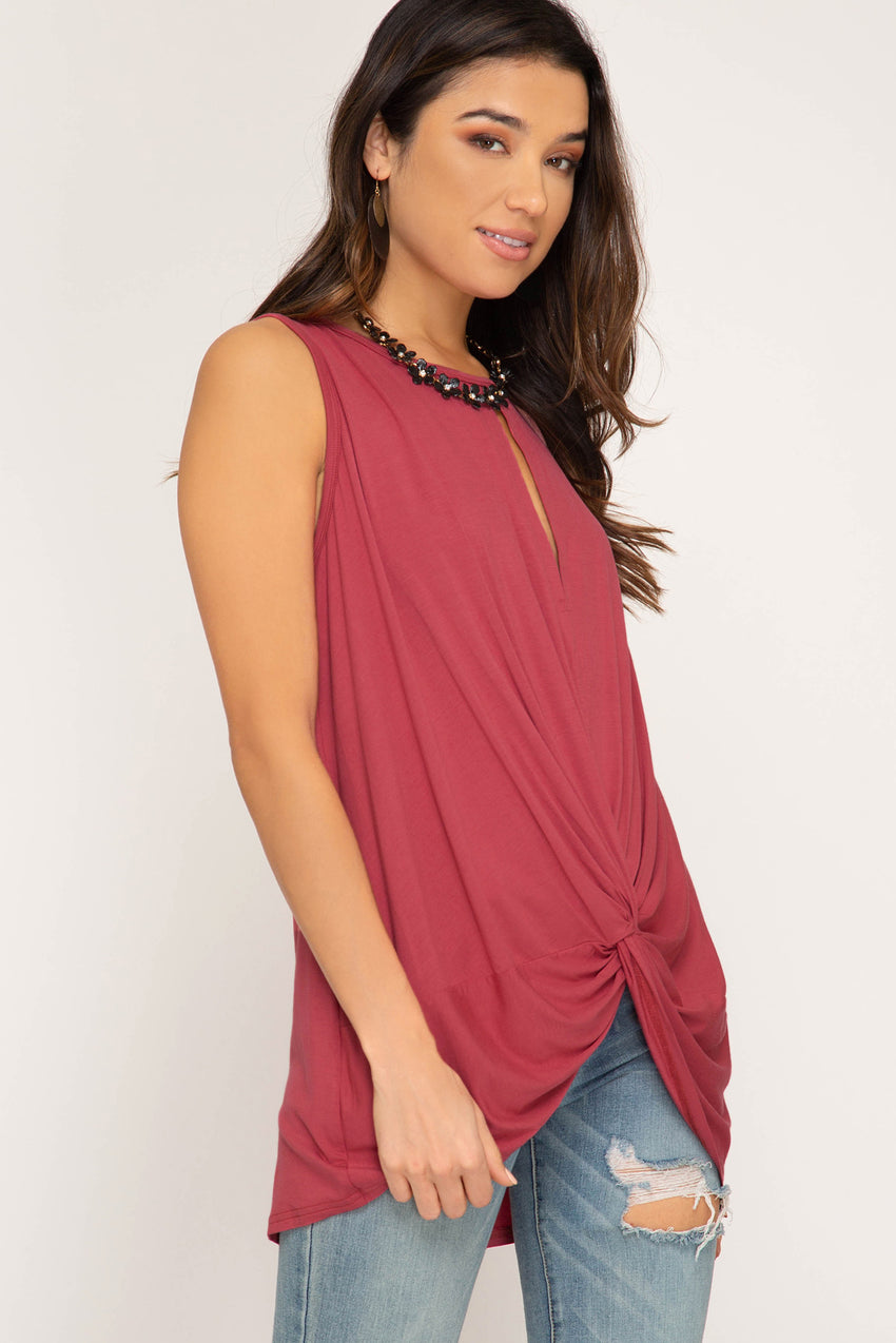 Berry Bliss Sleeveless Top