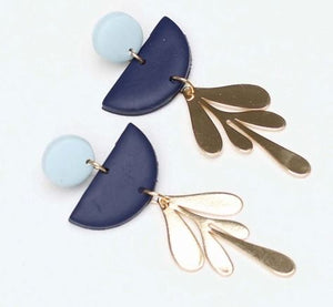 Blythe Blue & Navy Earrings