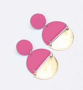 Brexley Pink Earrings