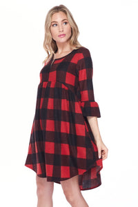 Cherise Checkered Dress