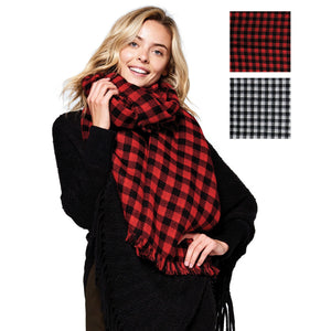 Chester Double Sided Scarf - Available in 2 Colors!