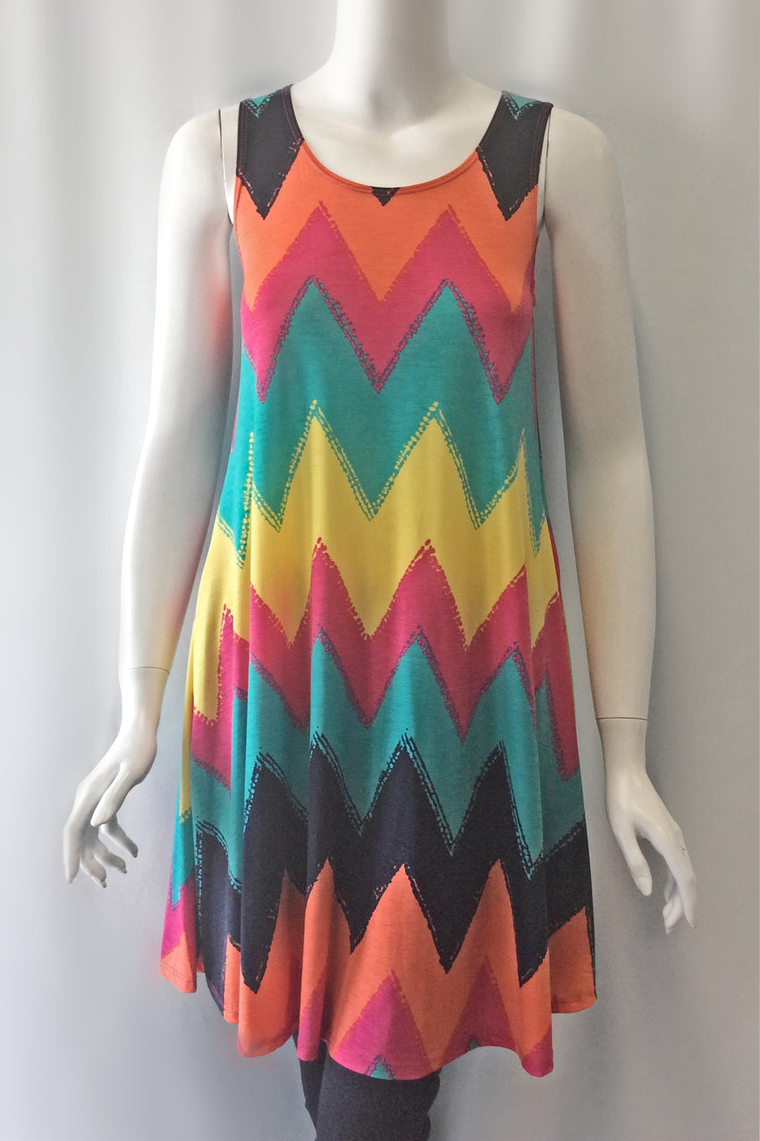 Chevron Tank Dress