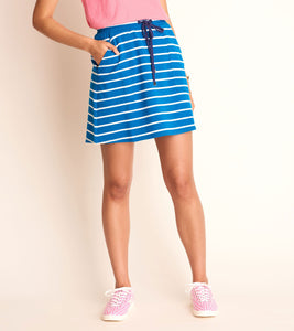 Christine Skirt - Mykonos Blue Stripes