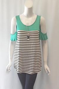 Coastal Living Striped Top