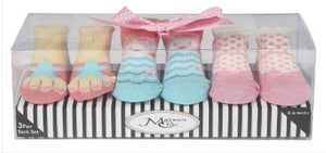 Coral the Mermaid Socks Gift Set