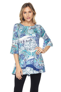 Crystal Blue Lagoon Top