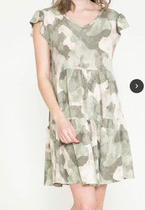 Cutesy Camo Dress