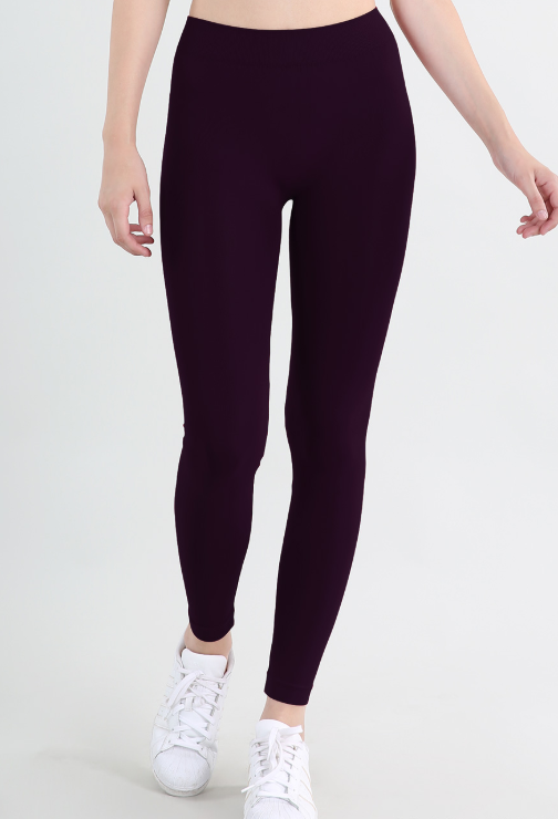 One Size Ankle Leggings - Narrow Band
