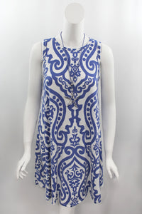 Delft Damask Dress