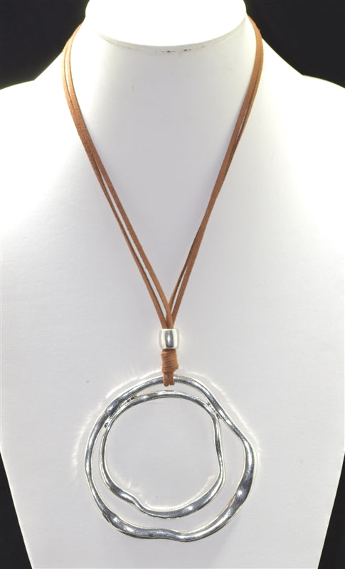Dual Circles Necklace