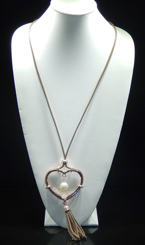 Heart & Soul Necklace - Gold