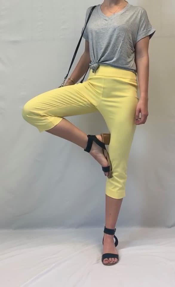 Comfy and Chic Capri - Available in 5 Colors!