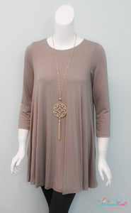 Essential Tunic - Taupe