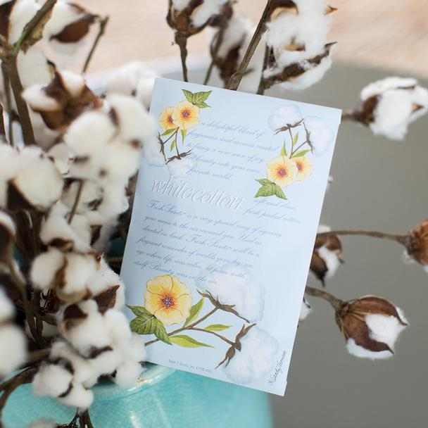 Scented Sachet - White Cotton