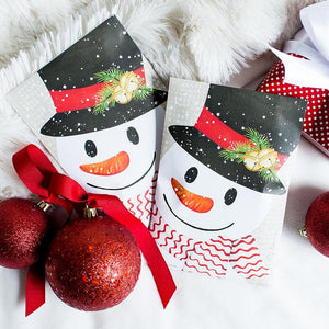Scented Sachet - Crafty Snowman
