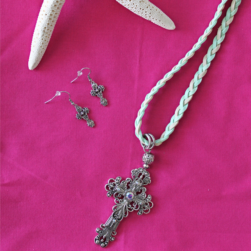 Faith Necklace & Earring Set