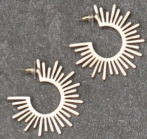 Ferris Gold Earrings