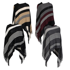 Pixie Fringe Poncho - Available in 4 Styles!