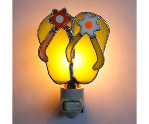 Stained Glass Flip Flop Nightlight