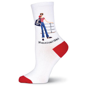Nautical Girl Socks