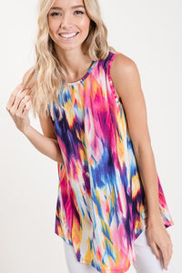 Good Vibrations Sleeveless Top