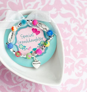Granddaughter Girls Toddler Bracelet