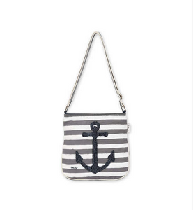 Stripes and Anchors Crossbody