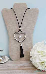 Heart & Soul Necklace - Silver