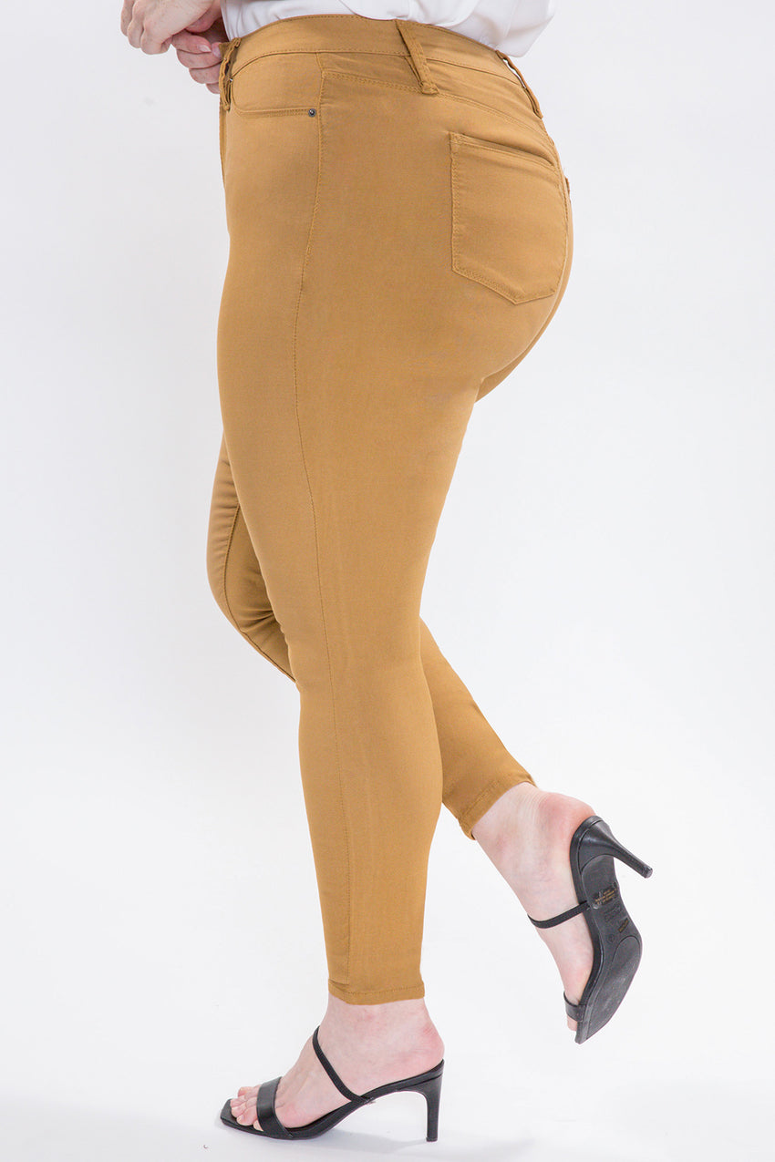 Plus Size Hyperstretch Skinny in Harvest
