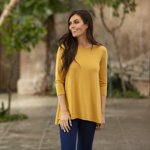 Honey Mustard Essential Tunic