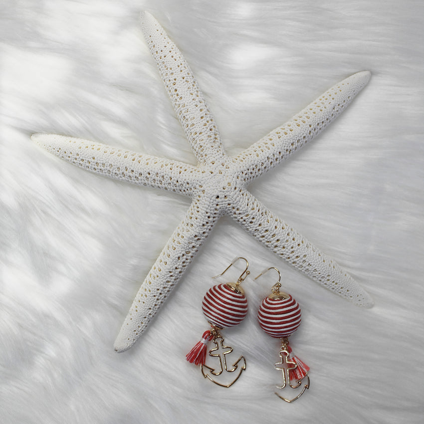 Nautical Earrings - Available in 2 Colors!