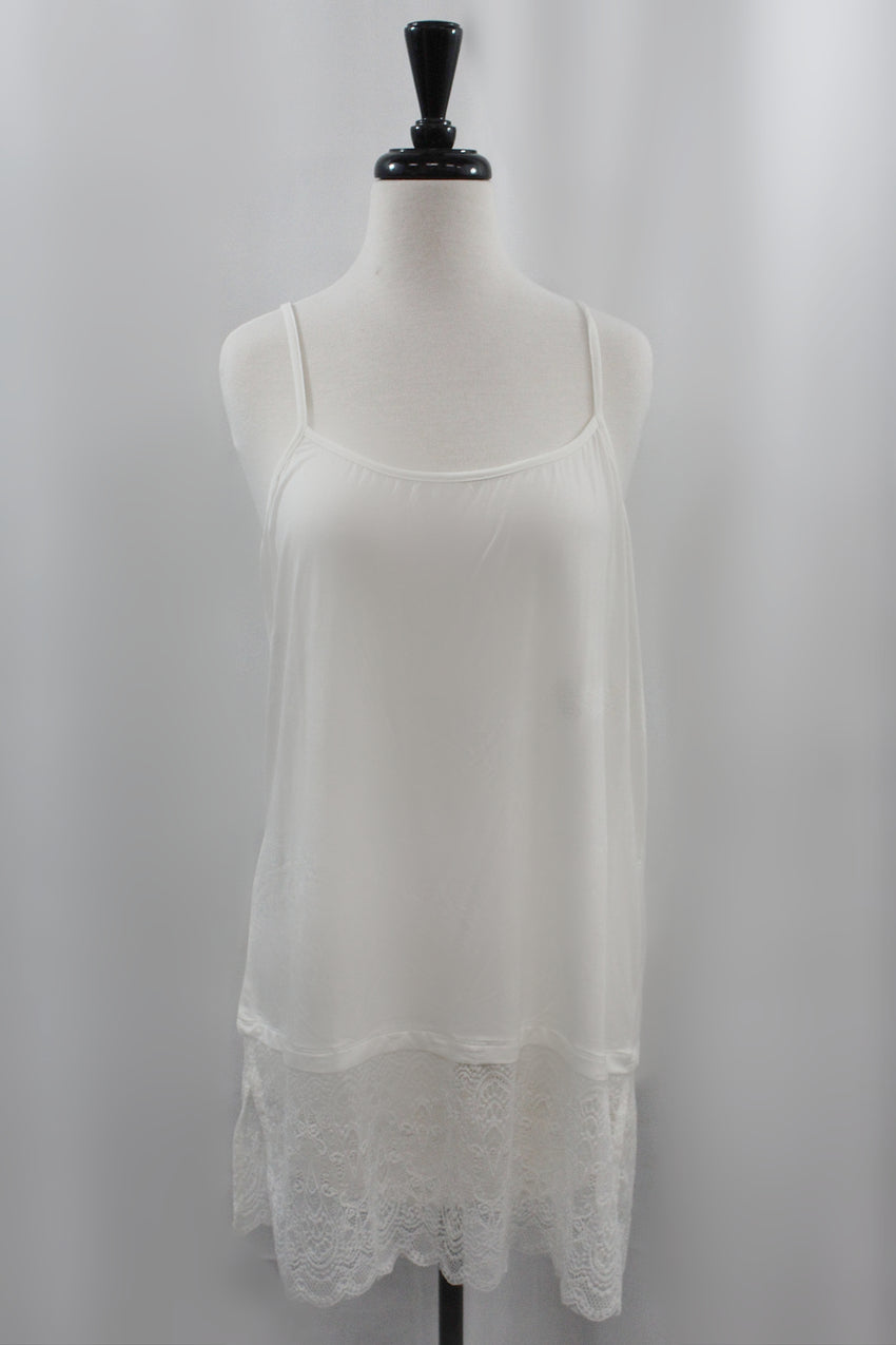 Ivory Cami Extender