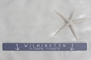 Wilmington Coordinates Stick