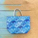 Mermaid Scale Metallic Tote