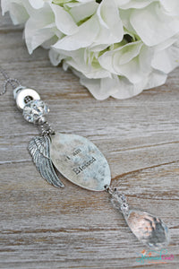 I am Blessed Spoon Necklace
