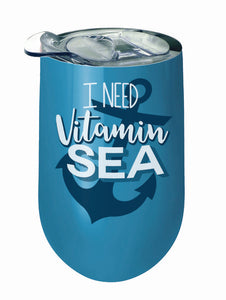 Vitamin Sea Stainless Wine Tumbler