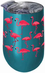 Flamingo Stainless Wine Tumbler