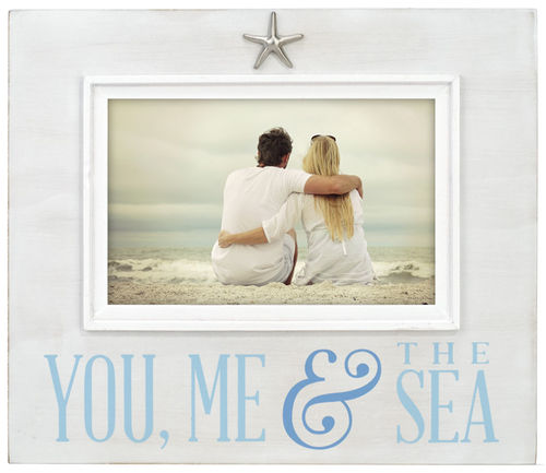 You, Me & the Sea 4X6 Photo Frame