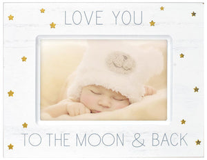 Love you to the Moon 4X6 Photo Frame