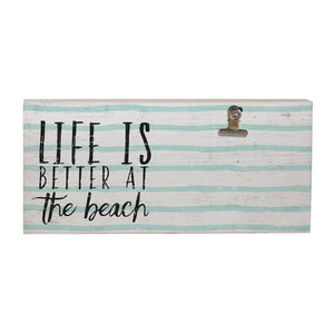 Life is Better at the Beach Picture Clip