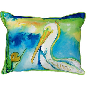 Large Outdoor Pelican Pillow