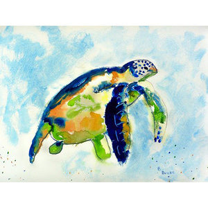 Blue Sea Turtle Place Mat