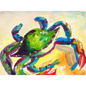Teal Crab Place Mat