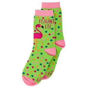 Flaunt It! Flamingo Socks