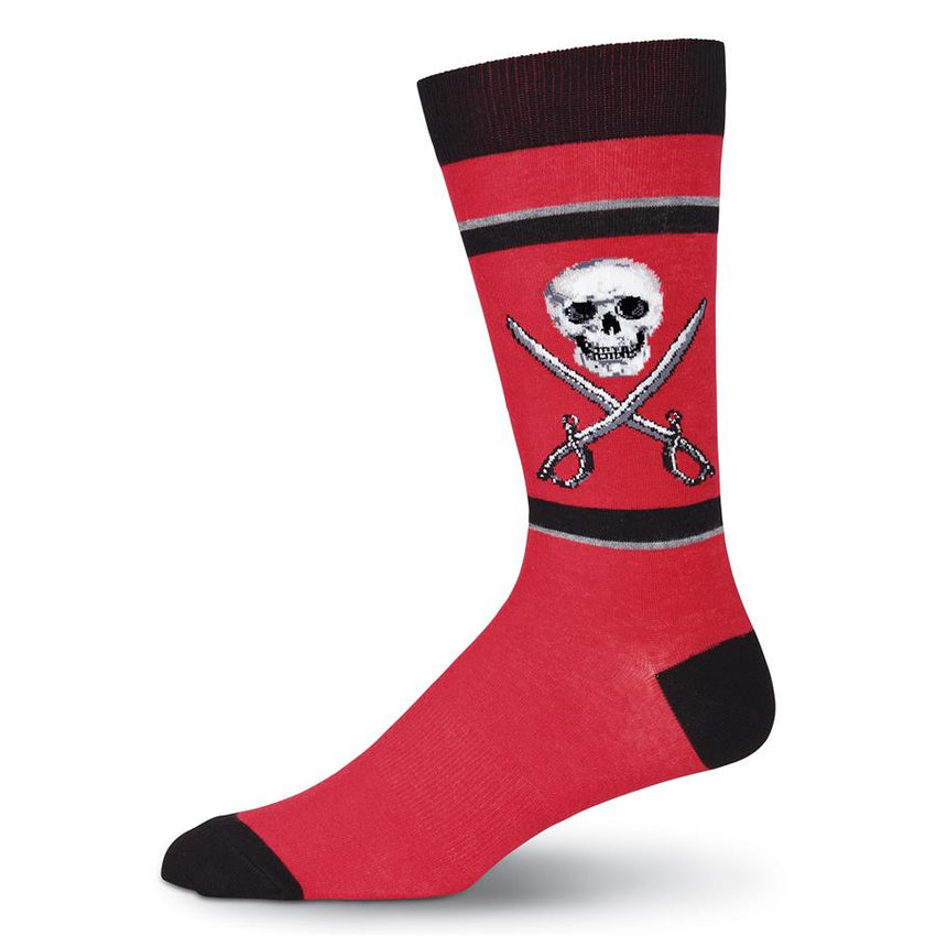 Men's Skull & Swords Crew Socks