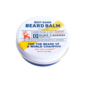 Duke Cannon's Best Damn Beard Balm